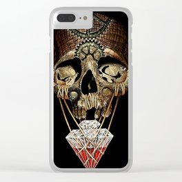 steadfast skull Clear iPhone Case