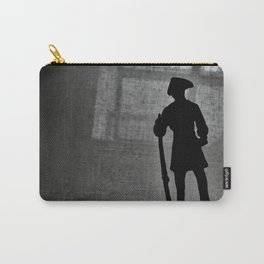 A Man Guarding (Silhouette) Carry-All Pouch