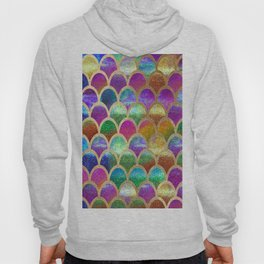 Rainbow mermaid scales Hoody