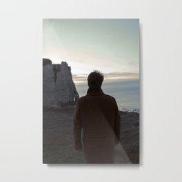 The cliff Metal Print