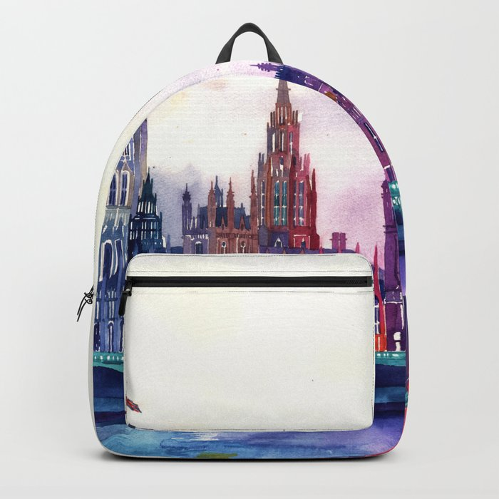 Sunset in London Backpack