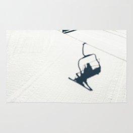 Chair lift shadow Rug
