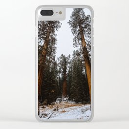 General Sherman Standing Guard Clear iPhone Case