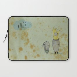 what? Laptop Sleeve
