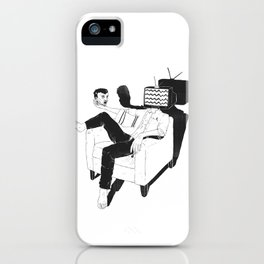 Daily dilemma iPhone Case