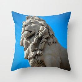 King of the Urban Jungle Throw Pillow