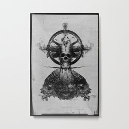King of Lies Metal Print