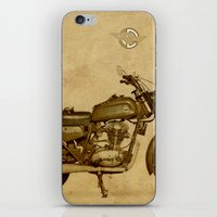 ducati iPhone & iPod Skins featuring Ducati motorcycle Meccanica by Larsson Stevensem