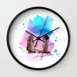 swan queen: second chance Wall Clock