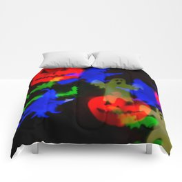 Ghosts And Ghouls Comforters