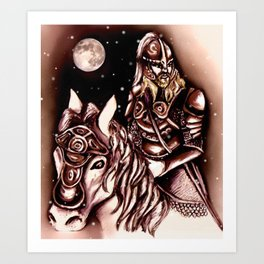 Eorlingas Art Print