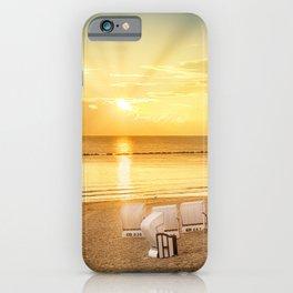 BALTIC SEA Sunrise | panoramic view iPhone Case