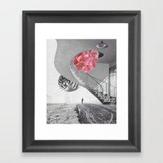 Le départ Framed Art Print