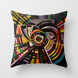 Iconic Spin Throw Pillow