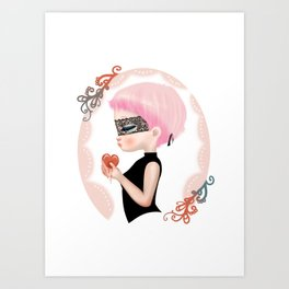 steal heart Art Print