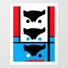 Modern Watcher Art Print