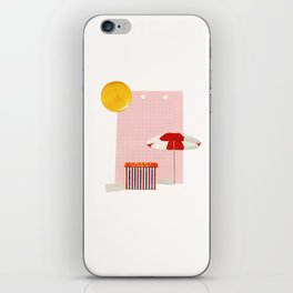 on holiday iPhone Skin