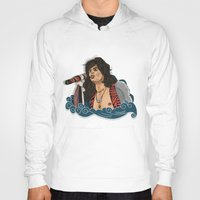 tyler spangler Hoodies featuring Steven Tyler by Matheus Lopes
