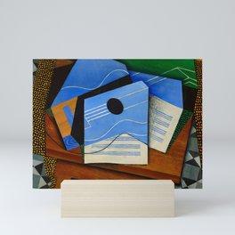 "Juan Gris ""Guitar on a table"" Mini Art Print"