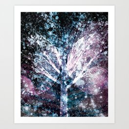By Space And Time Art Print