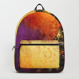 Eiffel Tower At Sunset Backpack