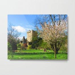 Blarney Castle in Spring Metal Print