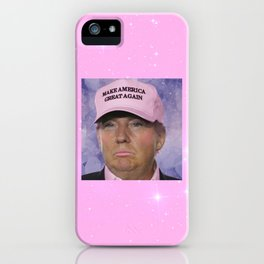 Make America Great Again - Kawaii Trump iPhone Case