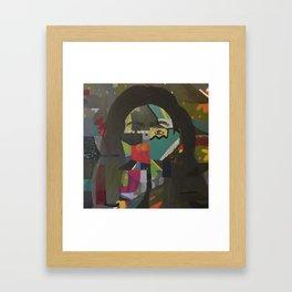 fishface Framed Art Print