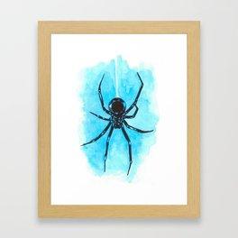 Diamond spider Framed Art Print