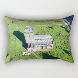Breedon church  3 Rectangular Pillow