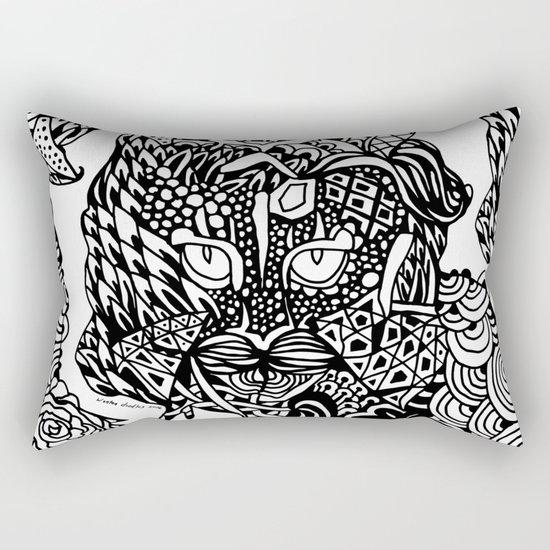 Dragon Cat Rectangular Pillow