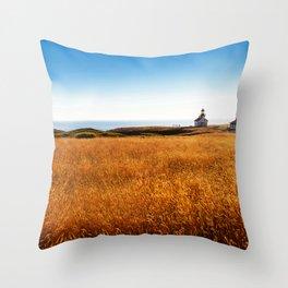Safe At Home Throw Pillow