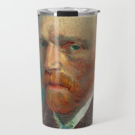 Vincent van Gogh - Self-Portrait, 1887 Travel Mug