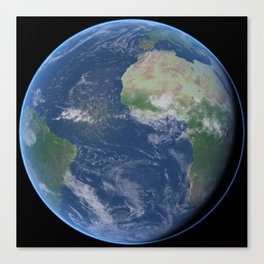 Earth 20 Canvas Print