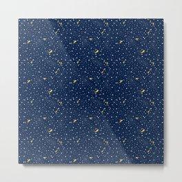Stars and Comets Metal Print