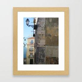 Bom dia Lisboa Framed Art Print