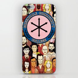Greendale Human Beings iPhone Skin