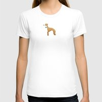 greyhound T-shirts featuring Italian Greyhound by 52 Dogs