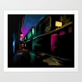 Light Stores Art Print