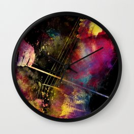 Violoncello art 1 #violoncello #cello #music Wall Clock