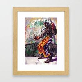 Dee Jay Framed Art Print