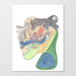Drawing #15 Canvas Print