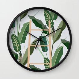 Plantscape Wall Clock