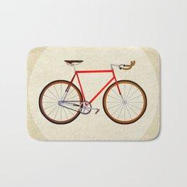 Red Bike Bath Mat