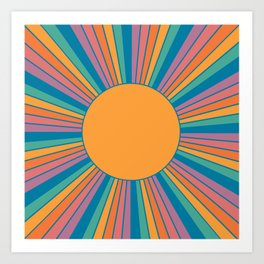 Sunshine State Art Print