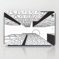 buildings iPad Cases featuring Buildings by Koral Feria