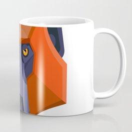 Baboon Head Flat Icon Coffee Mug