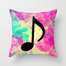 Music 553 Throw Pillow