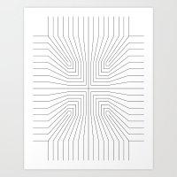 Perspective Hole 1 Art Print