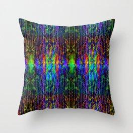 Melt Colors Series: Mess Throw Pillow